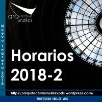 Horarios Introductorio 2018-II
